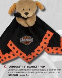 RMC CLassics webshop - KIDS - BLANKET PUP - 9950831 - Harley Davidson