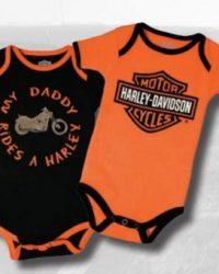 RMC CLassics webshop - KIDS - 2PACK BODYSUITS BOY 'MY DADDY RIDES' - 1153042 - Harley Davidson